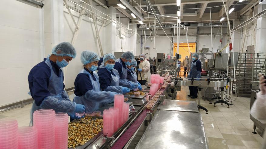В Ленобласти появится крупное рыбоперерабатывающее предприятие